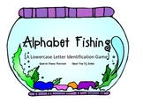 {Alphabet Fishing} lowercase letters
