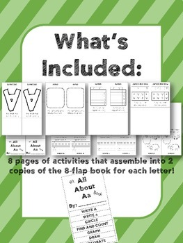 Alphabet Flap Books