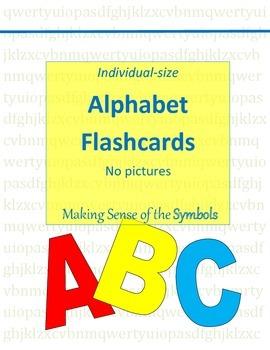 Alphabet Flaschards (individual-size)