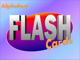 Alphabet Flash Cards Interactive activity