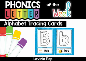 Alphabet Tracing Cards with Correct Letter Formation