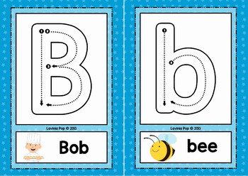 Free Printable Alphabet Tracing Cards