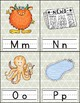 Alphabet Flash Cards FREEBIE