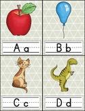 Alphabet Flash Cards FREEBIE