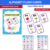 Alphabet Flash Cards - A - Z Letter and Picture Cards | Pr