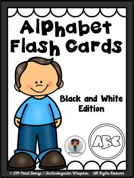 Alphabet Flash Cards (Black and White Edition)