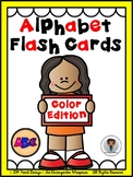 Phonics - Alphabet Flash Cards (Color)