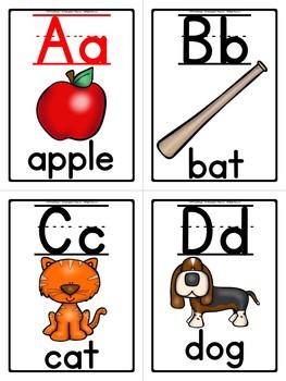 Phonics - Alphabet Flash Cards (Color)