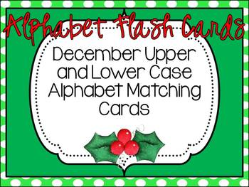 Alphabet Flash Cards December Set
