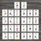 Alphabet Flash Cards - Fairy Cards - Pre-k/Kindergarten - ABC cards - Alphabet