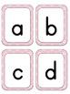 Alphabet Flash Cards - Flower Theme