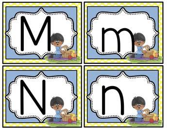 Alphabet Flash Cards June Set