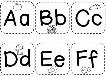 Alphabet Flash Cards/ Kindergarten