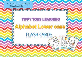 Alphabet Flash Cards (Lower Case) Play Dough Mats