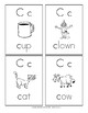Alphabet Flash Cards: Manuscript Handwriting Style