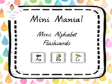 Alphabet Flash Cards Mini Queensland Font
