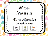 Alphabet Flash Cards Mini Victorian Cursive