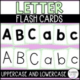 Alphabet Letter Flash Cards - Polka Dot Theme