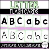 Letter Flashcards - Polka Dot Theme Green