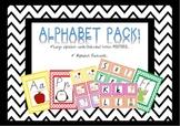 Alphabet Flash Cards & Posters Victorian Modern Cursive (Vic modern cursive)