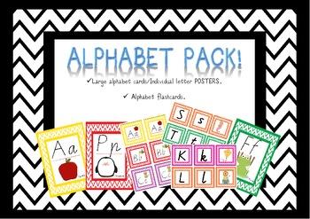 alphabet flash cards posters victorian modern cursive vic modern cursive. Black Bedroom Furniture Sets. Home Design Ideas