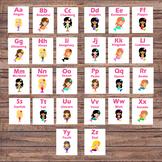 Alphabet Flash Cards - Pre-K/Kindergarten - ABC Cards - Al