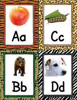 Alphabet Flash Cards - Real Images APT-001
