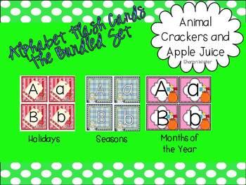 Alphabet Flash Cards The Bundled Set