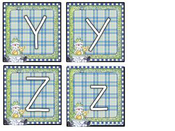 Alphabet Flash Cards Winter Set
