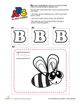 Alphabet Flash Cards Workbook
