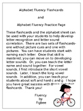 Alphabet Flash Cards and Letter Sound Fluency
