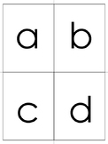 Alphabet Flash Cards (lower case)