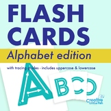 Alphabet Flashcards with Tracing Guides
