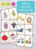 Alphabet Flashcards - English Version
