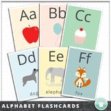 Letter Recognition Alphabet Flash Cards