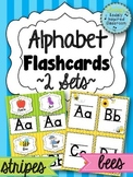 Alphabet Flashcards {2 Sets}