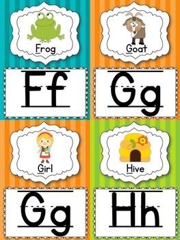 Alphabet Flashcards {2 Sets}