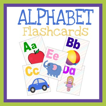 photo relating to Printable Abc Flash Cards titled Alphabet Flashcards Free´ Worksheets Coaching Products TpT