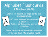 Alphabet Flash Cards ~ Capital & Lowercase