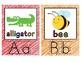 Alphabet Flashcards: Classroom Decor or Learning Center
