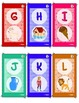 Alphabet Flashcards - Colorful - Cute