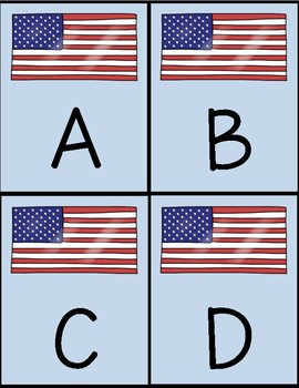 Alphabet Flashcards - Flag