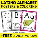 Phonics Posters - Latin American Theme Alphabet