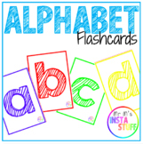 Alphabet Flashcards - Lowercase