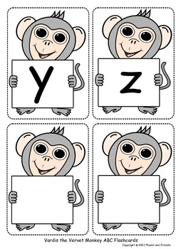 Alphabet Flashcards - Lowercase Letters
