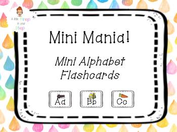 Alphabet Flashcards Mini