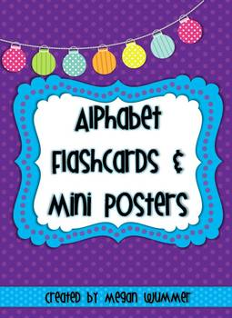 Alphabet Flashcards & Mini Posters