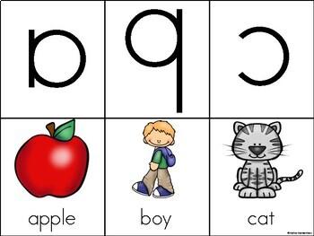 Alphabet Flashcards - Orton-Gillingham compatible