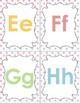 Alphabet Flashcards: Pastel Dots Design