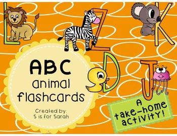 Alphabet Flashcards Take-Home Activity